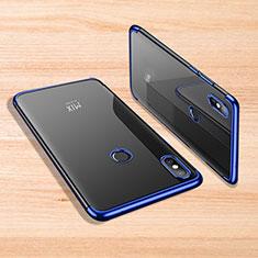 Coque Ultra Fine TPU Souple Housse Etui Transparente H02 pour Xiaomi Mi Mix 3 Bleu