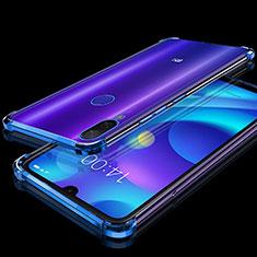 Coque Ultra Fine TPU Souple Housse Etui Transparente H02 pour Xiaomi Mi Play 4G Bleu