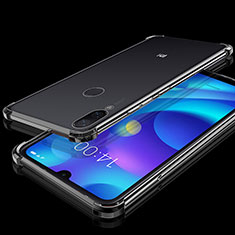 Coque Ultra Fine TPU Souple Housse Etui Transparente H02 pour Xiaomi Mi Play 4G Noir