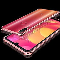 Coque Ultra Fine TPU Souple Housse Etui Transparente H02 pour Xiaomi Mi Play 4G Or Rose