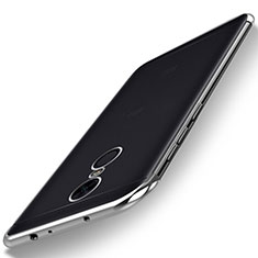 Coque Ultra Fine TPU Souple Housse Etui Transparente H02 pour Xiaomi Redmi 5 Plus Argent