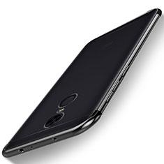 Coque Ultra Fine TPU Souple Housse Etui Transparente H02 pour Xiaomi Redmi 5 Plus Noir