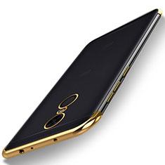 Coque Ultra Fine TPU Souple Housse Etui Transparente H02 pour Xiaomi Redmi 5 Plus Or