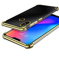 Coque Ultra Fine TPU Souple Housse Etui Transparente H02 pour Xiaomi Redmi 6 Pro Or