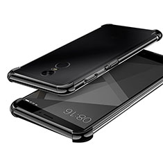Coque Ultra Fine TPU Souple Housse Etui Transparente H02 pour Xiaomi Redmi Note 4 Noir