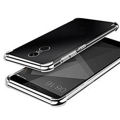 Coque Ultra Fine TPU Souple Housse Etui Transparente H02 pour Xiaomi Redmi Note 4X High Edition Argent