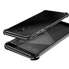 Coque Ultra Fine TPU Souple Housse Etui Transparente H02 pour Xiaomi Redmi Note 4X High Edition Noir