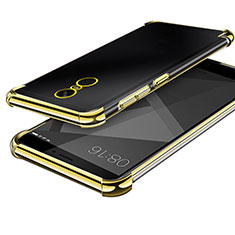 Coque Ultra Fine TPU Souple Housse Etui Transparente H02 pour Xiaomi Redmi Note 4X High Edition Or