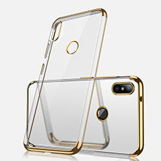 Coque Ultra Fine TPU Souple Housse Etui Transparente H02 pour Xiaomi Redmi Note 5 AI Dual Camera Or