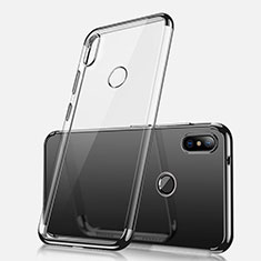 Coque Ultra Fine TPU Souple Housse Etui Transparente H02 pour Xiaomi Redmi Note 5 Noir