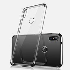 Coque Ultra Fine TPU Souple Housse Etui Transparente H02 pour Xiaomi Redmi Note 5 Pro Noir