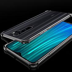 Coque Ultra Fine TPU Souple Housse Etui Transparente H02 pour Xiaomi Redmi Note 8 Pro Noir