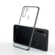 Coque Ultra Fine TPU Souple Housse Etui Transparente H02 pour Xiaomi Redmi Note 8T Noir