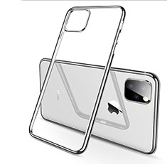 Coque Ultra Fine TPU Souple Housse Etui Transparente H03 pour Apple iPhone 11 Pro Argent
