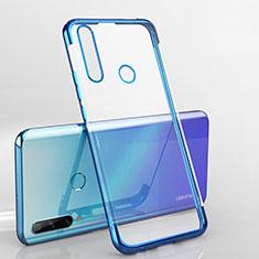 Coque Ultra Fine TPU Souple Housse Etui Transparente H03 pour Huawei Enjoy 10 Plus Bleu