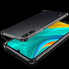Coque Ultra Fine TPU Souple Housse Etui Transparente H03 pour Huawei Enjoy 10e Noir
