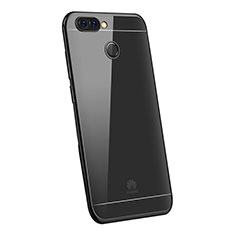 Coque Ultra Fine TPU Souple Housse Etui Transparente H03 pour Huawei Enjoy 7S Noir