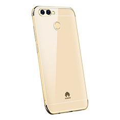 Coque Ultra Fine TPU Souple Housse Etui Transparente H03 pour Huawei Enjoy 7S Or