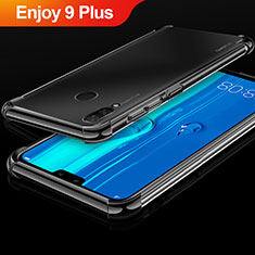 Coque Ultra Fine TPU Souple Housse Etui Transparente H03 pour Huawei Enjoy 9 Plus Noir