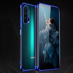 Coque Ultra Fine TPU Souple Housse Etui Transparente H03 pour Huawei Honor 20 Pro Bleu
