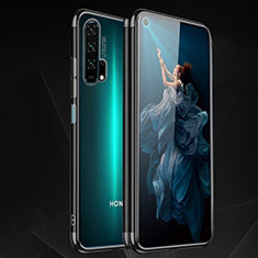 Coque Ultra Fine TPU Souple Housse Etui Transparente H03 pour Huawei Honor 20 Pro Noir