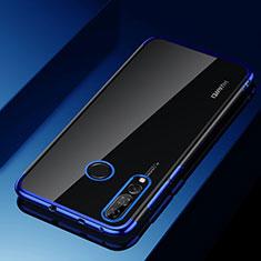Coque Ultra Fine TPU Souple Housse Etui Transparente H03 pour Huawei Honor 20i Bleu