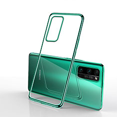 Coque Ultra Fine TPU Souple Housse Etui Transparente H03 pour Huawei Honor 30 Pro+ Plus Vert