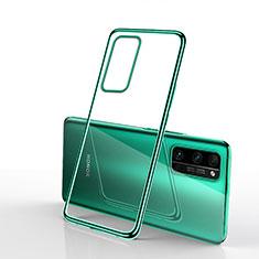 Coque Ultra Fine TPU Souple Housse Etui Transparente H03 pour Huawei Honor 30 Pro Vert