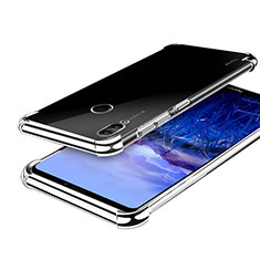 Coque Ultra Fine TPU Souple Housse Etui Transparente H03 pour Huawei Honor Note 10 Argent