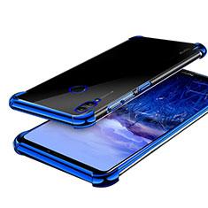 Coque Ultra Fine TPU Souple Housse Etui Transparente H03 pour Huawei Honor Note 10 Bleu