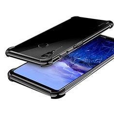 Coque Ultra Fine TPU Souple Housse Etui Transparente H03 pour Huawei Honor Note 10 Noir