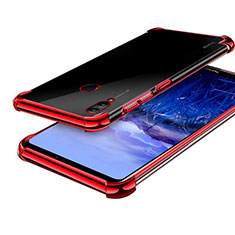 Coque Ultra Fine TPU Souple Housse Etui Transparente H03 pour Huawei Honor Note 10 Rouge