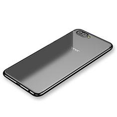 Coque Ultra Fine TPU Souple Housse Etui Transparente H03 pour Huawei Honor V10 Noir
