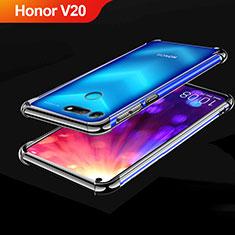 Coque Ultra Fine TPU Souple Housse Etui Transparente H03 pour Huawei Honor View 20 Noir