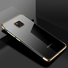 Coque Ultra Fine TPU Souple Housse Etui Transparente H03 pour Huawei Mate 20 Pro Or