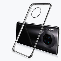 Coque Ultra Fine TPU Souple Housse Etui Transparente H03 pour Huawei Mate 30 Noir