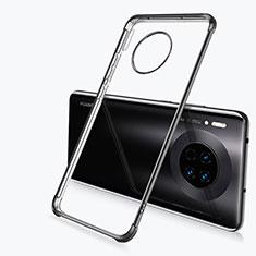 Coque Ultra Fine TPU Souple Housse Etui Transparente H03 pour Huawei Mate 30 Pro 5G Noir