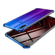 Coque Ultra Fine TPU Souple Housse Etui Transparente H03 pour Huawei Nova 3 Bleu