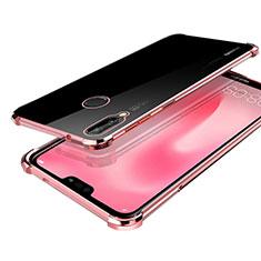 Coque Ultra Fine TPU Souple Housse Etui Transparente H03 pour Huawei Nova 3 Or Rose