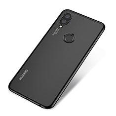 Coque Ultra Fine TPU Souple Housse Etui Transparente H03 pour Huawei Nova 3e Noir