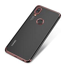 Coque Ultra Fine TPU Souple Housse Etui Transparente H03 pour Huawei Nova 3e Or Rose