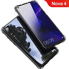 Coque Ultra Fine TPU Souple Housse Etui Transparente H03 pour Huawei Nova 4 Gris