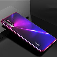Coque Ultra Fine TPU Souple Housse Etui Transparente H03 pour Huawei Nova 5 Pro Violet