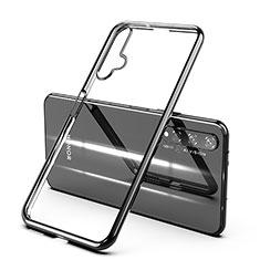 Coque Ultra Fine TPU Souple Housse Etui Transparente H03 pour Huawei Nova 5T Noir