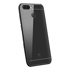 Coque Ultra Fine TPU Souple Housse Etui Transparente H03 pour Huawei P Smart Noir