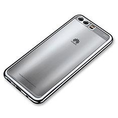 Coque Ultra Fine TPU Souple Housse Etui Transparente H03 pour Huawei P10 Plus Argent