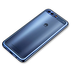 Coque Ultra Fine TPU Souple Housse Etui Transparente H03 pour Huawei P10 Plus Bleu
