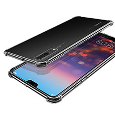 Coque Ultra Fine TPU Souple Housse Etui Transparente H03 pour Huawei P20 Clair