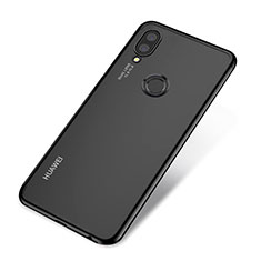 Coque Ultra Fine TPU Souple Housse Etui Transparente H03 pour Huawei P20 Lite Noir