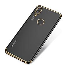 Coque Ultra Fine TPU Souple Housse Etui Transparente H03 pour Huawei P20 Lite Or